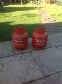 Calor gas propane bottles