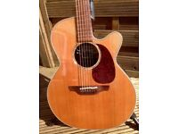 Takamine EAN 45cx with valve preamp
