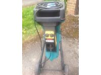 Bosch electric garden shredder AXT 1600
