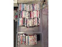 Bundle of 160 dvds