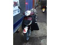 HONDA SH SH125 LOW MILEAGE AND LEG COVER 1 YEAR MOT FOR SALE - STERLING