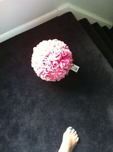 Beautiful Rose Balls for wedding or Shower Decoration.