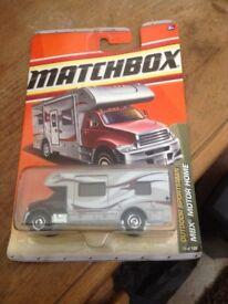 Matchbox motor home