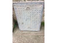 Man hole cover and frame