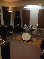 PROFESSIONAL MUSIC PRACTICE/JAM SPACE AVAILABLE DAILY OR MONTHLY