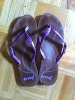 Reef sandals shoes pink 8