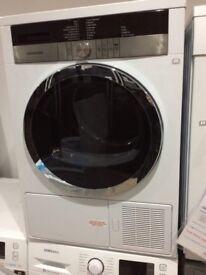 Grundig GTN3820HGCW Condenser Dryer