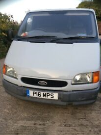 65000 miles from new Ford Transit smiley mk5 1999 Genuine low mileage van