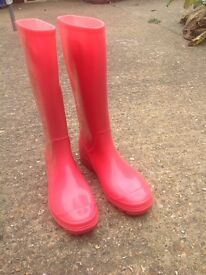 Wellie boot girls size 6