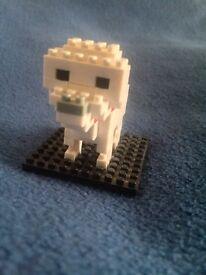 Nanoblock Dog, super cute mini statue