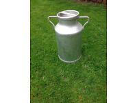 Vintage French Milk Churn / garden planter