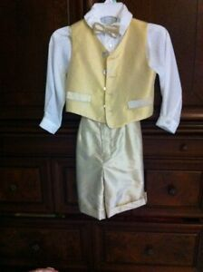Hand made silk suit