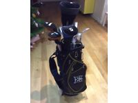 Golf clubs +Bag