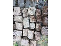 Reclaimed Mountsorrel Pink Granite Cobbles LEICS LAST FEW BARGAIN PRICE!