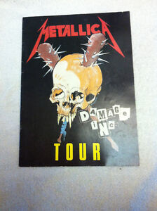 METALLICA 1986 MASTER OF PUPPETS TOUR Book