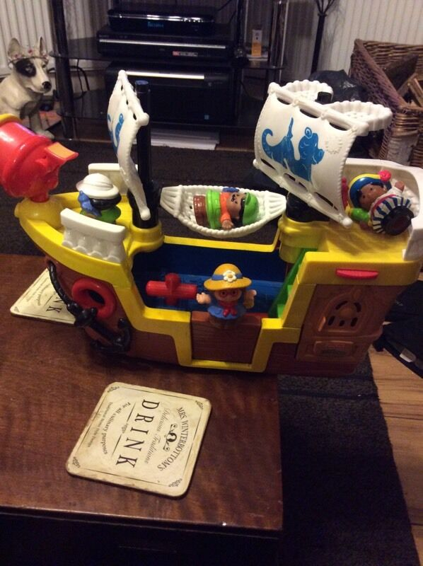 Fisher price little people pirate ship (excellent condition12in Coventry, West MidlandsGumtree - Here for sale is fisher price little people pirate ship in excellent condition.Price is £12Collection coventry