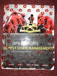 Operations and Supply Chain Management textbook SCM 2160