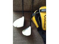Taylormade RBZ Stage 2 driver and 3 wood