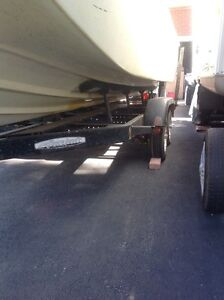 Tandem axle trailer for14 to 19 ft boat Windsor Region Ontario image 4