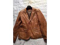 Echtes Leder Ladies Real Leather Jacket Vintage
