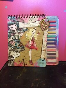 Ever After High Fairy Tale Fashion Book