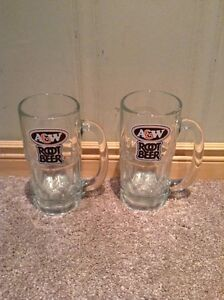 pair of A&W Root Beer Mugs (large) --NEW PRICE Kitchener / Waterloo Kitchener Area image 2