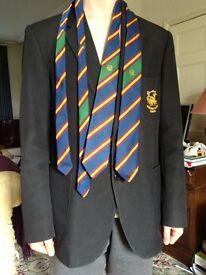 Beecheen cliffs school blazer and two ties