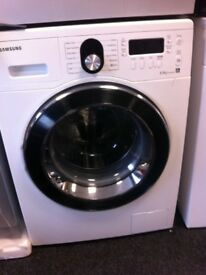 Samsung white 8kg washing machine