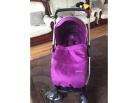 Oyster max pushchair and maxi cosi travel system **bargain price** £160 ono