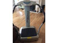 Fitness vibrating plate