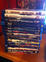 Bluray Movies Set (Great deal)