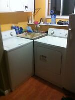 Inglis high capacity washer and dryer work great older
