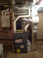 Hvac duct installs heating services and repair