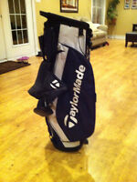 Taylor Made New Golf Bag & Stand