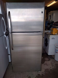 STAINLESS GE FRIDGE JUST LESS THAN 2 YRS OLD 5905904