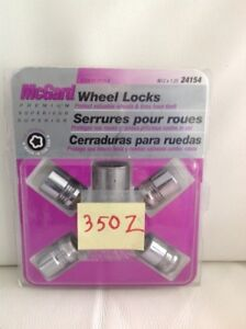 Auto - Locking Wheel Nuts for Nissan 350 Zed