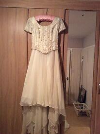 Two-piece Wedding Gown & Tiara