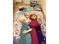 Frozen single bed set & accessories
