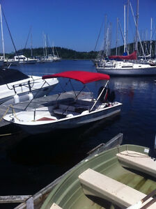 15' Whaler with 60hp Mercury