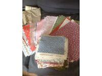 Vintage Laura Ashley Patchwork pieces