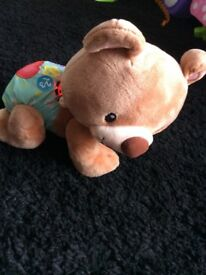 Vetch crawl along bear