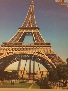 1500 pcs Jigsaw Puzzle Beautiful Paris in Evening, Eiffel Tower