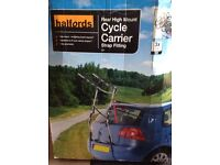 Cycle Carrier -Halfords rear mount strap fitting