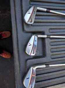Golf clubs nike victory red iron set