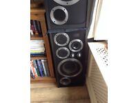 Vintage Wharfedales E70 Top hi fi speakers