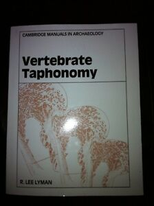 Textbook - Vertebrate Taphonomy