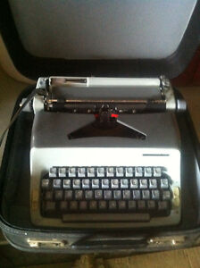 Two antique typewriters