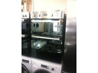 Double oven electric built-in Hotpoint oven standard size warranty included SALE ON ex-display oven