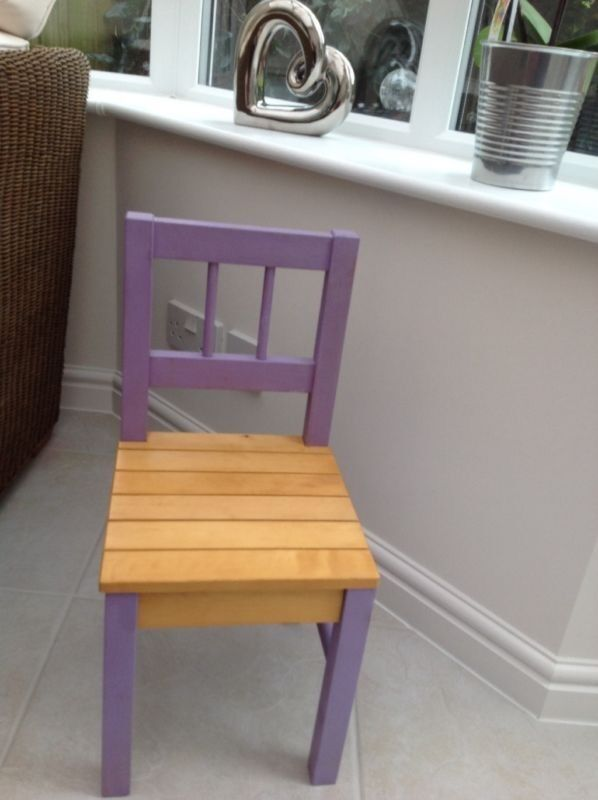 GLTC GIRLS WOODEN DESK CHAIRlavender paintRRP99in Stourbridge, West MidlandsGumtree - GLTC Great little trading company Girls desk chair Painted in lavender paint Stunning Cost £99 new In great used condition All proceeds from the sale will be donated to wall for life breast cancer in July 9th after recently being diagnosed Thank you...