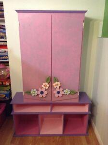 Armoire-bibliothèque pour chambre d'enfants ou salle de jeux